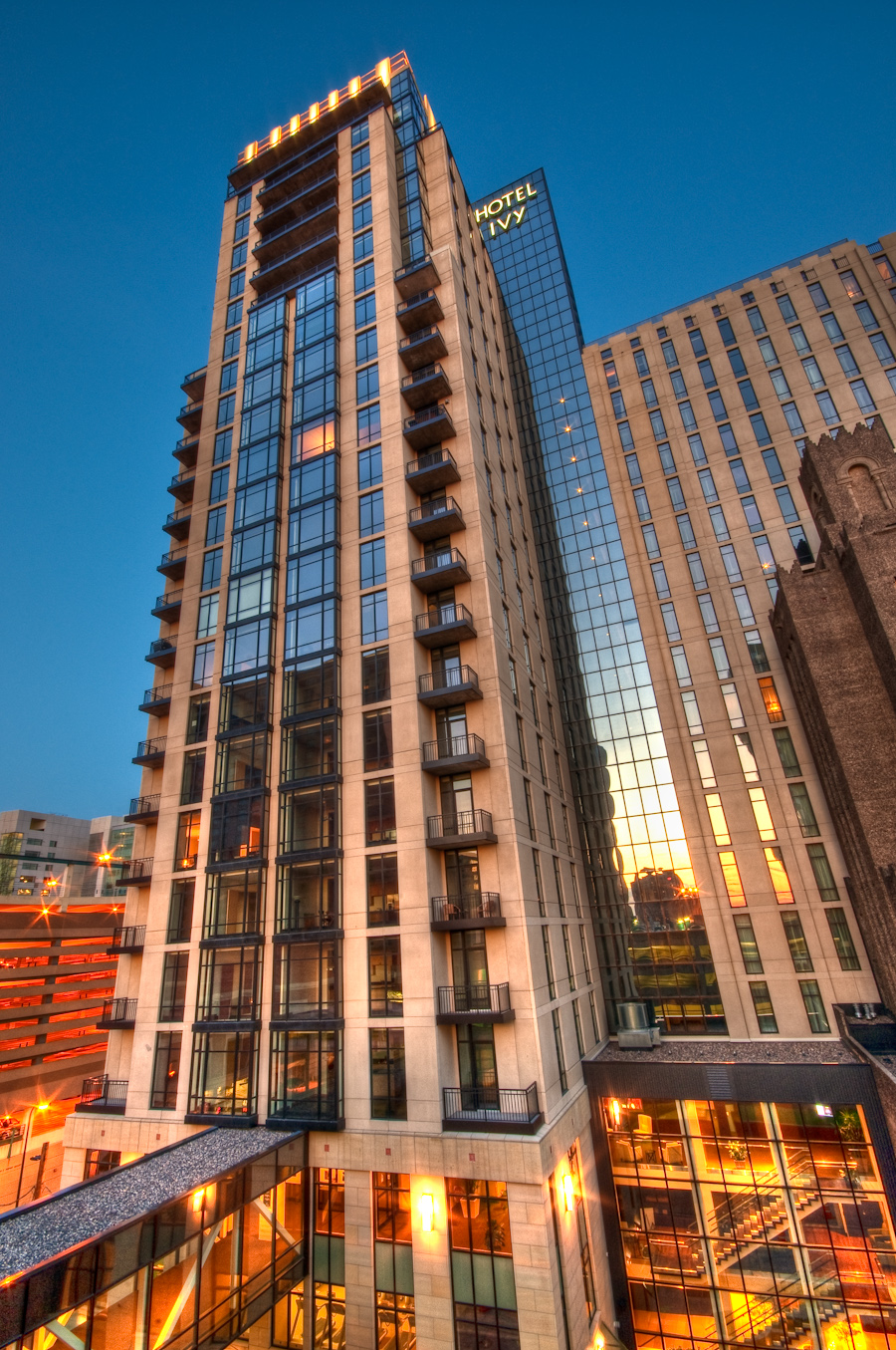 Hotel Ivy Downtown Minneapolis Skyline