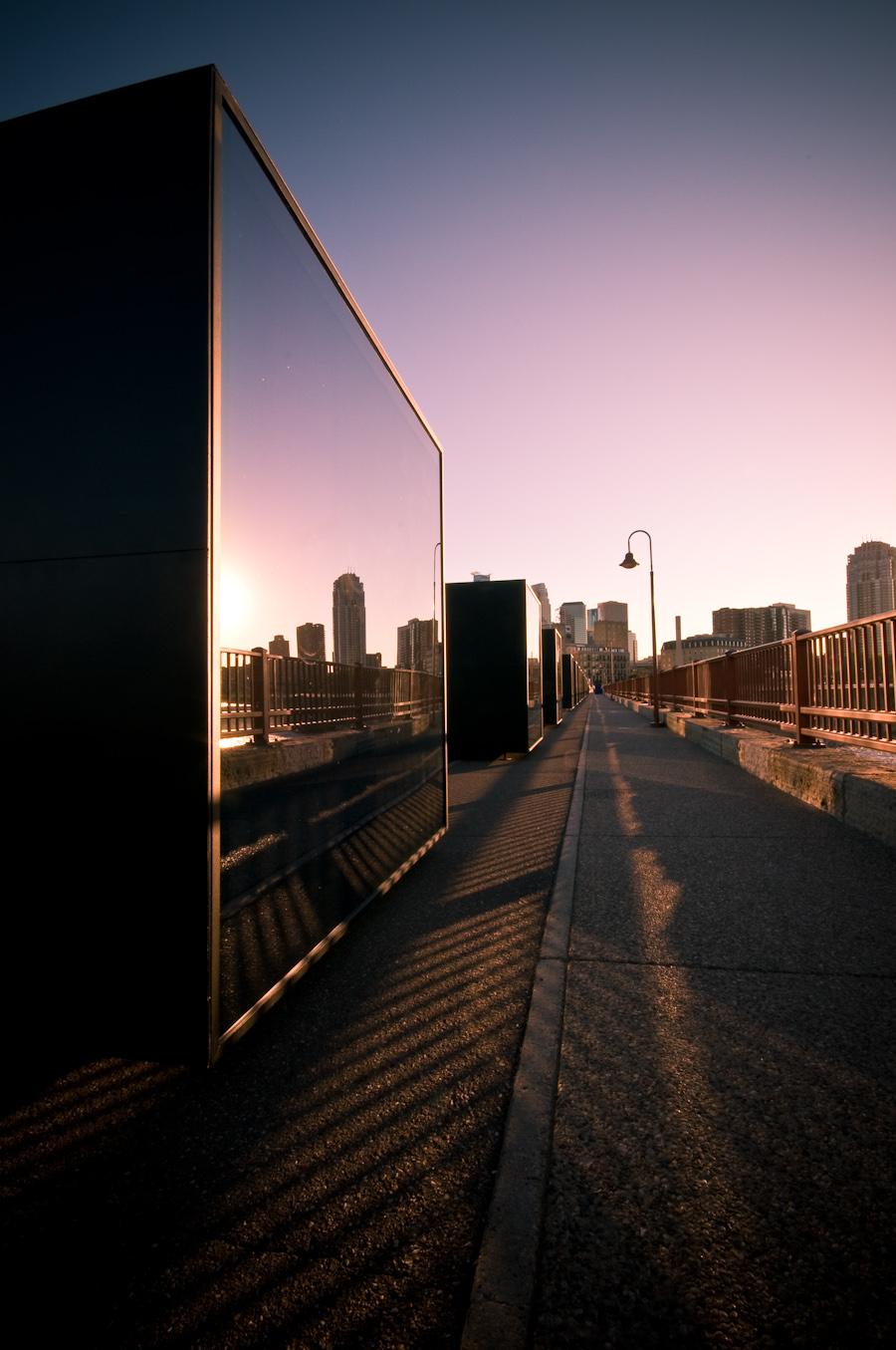 Stone Arch Bridge Minneapolis | Downtown Minneapolis Skyline