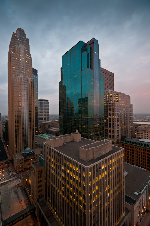 Downtown Minneapolis Skyline from 5th Street |  Photos of downtown Minneapolis skyline