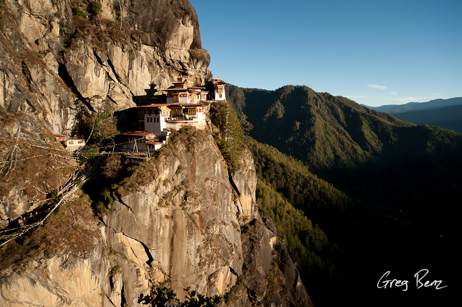 The Tiger's Nest in Bhutan