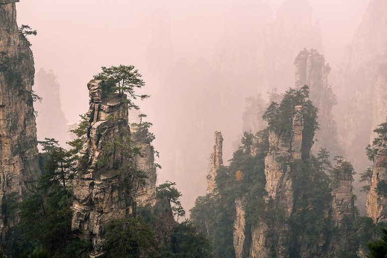 The Floating World of Zhangjiajie