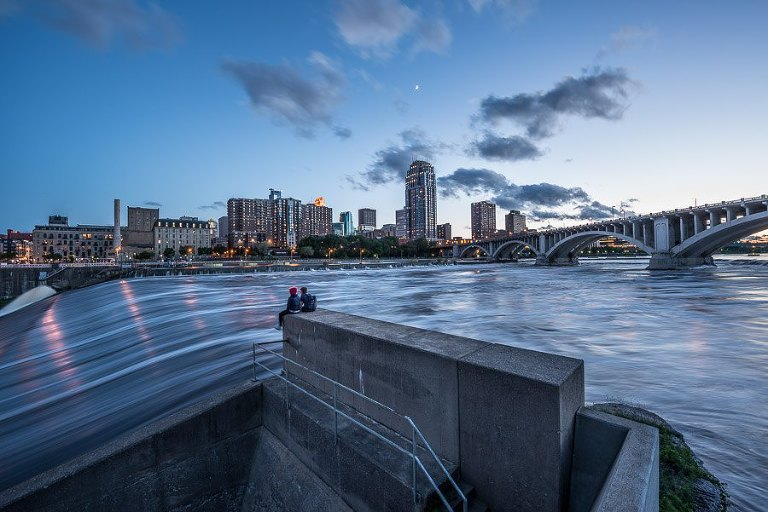 St Anthony Falls - Minneapolis