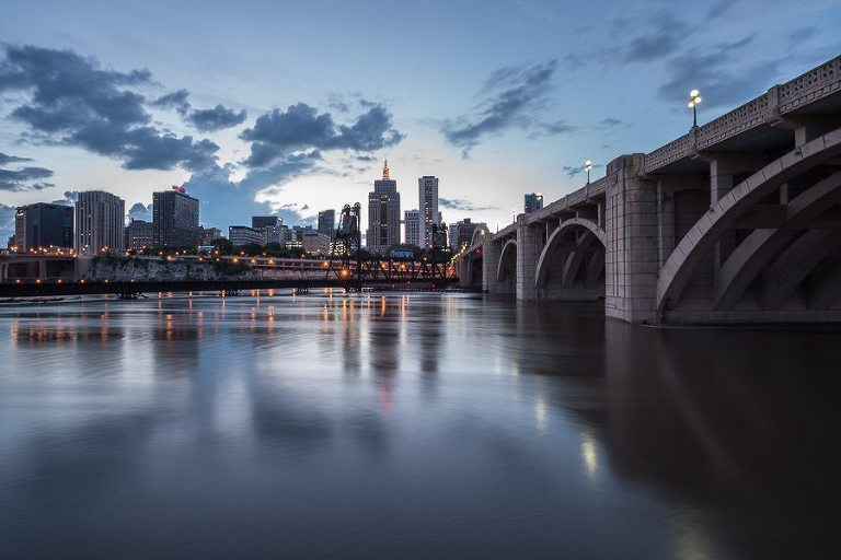 downtown St Paul, Minnesota