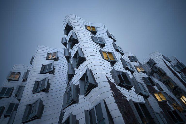 Frank Gehry building in Dusseldorf Media Harbor