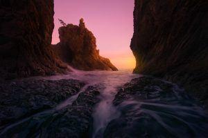 Rialto Beach Oceanscape Sunset