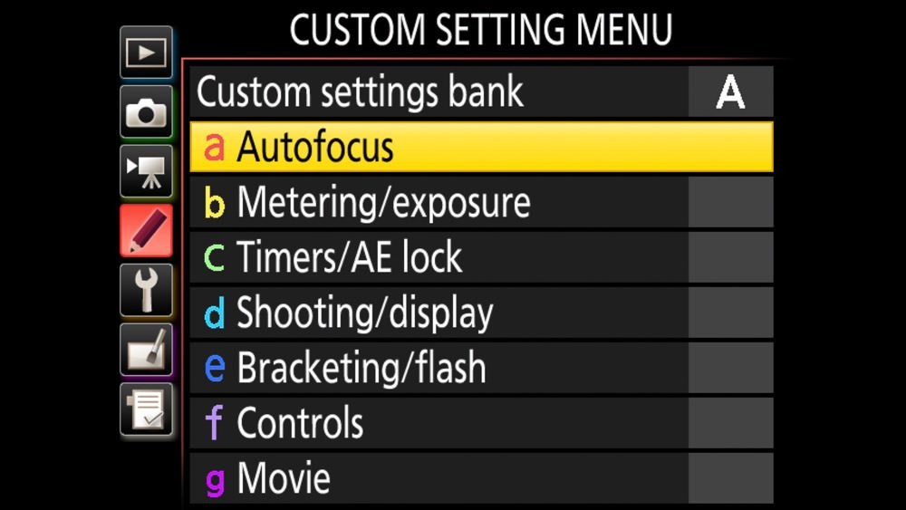 How to Setup and Configure the Nikon D850 menus for landsacpes