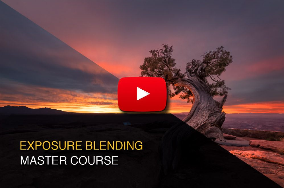 How to blend exposures with luminosity masks in Photoshop
